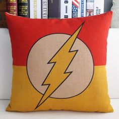 Mary's Home Superman Batman Green Lantern Captain America, Iron Man, the Flash Cotton & Linen Pillowcase Decorative Throw Pillow Cover (The Flash) Mary's Home http://www.amazon.com/dp/B00JEQJWVE/ref=cm_sw_r_pi_dp_zBsUvb1B6Z9BM