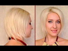 Faux bob hair tutorial or How to fake short hair