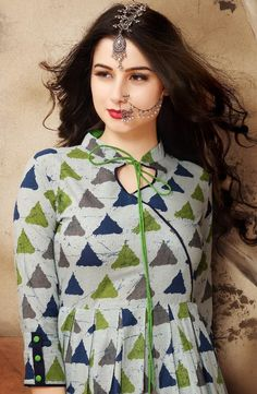 """Buy this Excellent Quality """" By Mrigya Cotton Kurti Catalog"""" at Best wholesale price / Piece ONLINE @ WholesaleBox. (Only Contact serious & Fabric Type: Rayon, Material Type: Cotton Size: Length: inches, Sleeve: Sleeve Churidar Neck Designs, Salwar Designs, Kurta Designs Women, Neck Designs For Suits, Dress Neck Designs, Blouse Designs, Printed Kurti Designs, Simple Kurti Designs, Neck Patterns For Kurtis"""