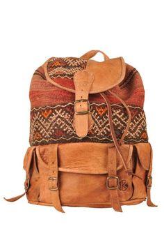 kilim backpack