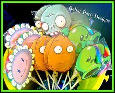 "plants vs zombie party | ... Zombies / Birthday ""Brandon's 8th Plants vs. Zombies Birthday Party"