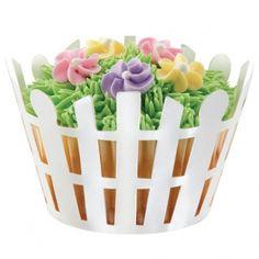 Cupcakes Wrapper Basket