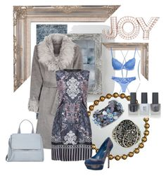 """""""Joy"""" by fm3happy ❤ liked on Polyvore featuring Today Interiors, Loloi Rugs, Jamie Young, Blue Vanilla, Alberta Ferretti, Chico's, Sergio Rossi, Phillip Gavriel, Givenchy and Topshop"""