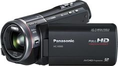 Panasonic HC X900 Camcorder Camera .  Excellent image quality, Lens focus ring, Comprehensive manual controls Cons: Optional 3D not as fully featured as dedicated 3D camcorders.It has all the makings of a high-end camcorder; the only thing missing is finer materials on the body.