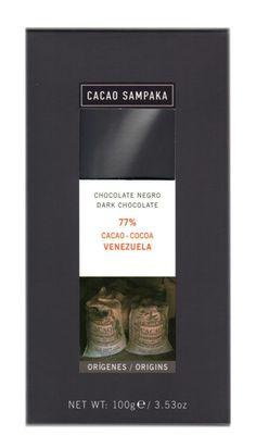 C Sampaka 100g. Ciocolata neagra 77% cacao Venezuela http://www.ciocopolis.ro/sampaka-100g-ciocolata-neagra-cacao-venezuela-p-211.html