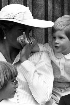 Princess Diana the son Prince Harry.
