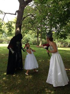 Star Wars Wedding picture