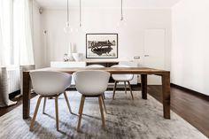 Appartamento Residenziale - Milano 2014 : Sala da pranzo moderna di Galleria del Vento