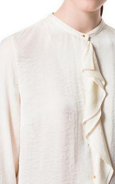ZARA RUFFLE SWEATER DRESS & BLAZER WITH ELBOW PATCHES