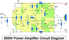 DIY Making complete power amplifier circuit about power output audio amplifier, include power supply , tone control + subwoofer. Finished audio amplifier project with video testing amplifier. Class D Amplifier, Stereo Amplifier, Audio, Circuit Diagram, Diy Electronics, Electronics Projects, Layout Design, Electronic Circuit, Electronic Schematics