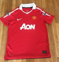 b5ff4c2a2c0 Kids Childs Youth Manchester United Football Shirt Nike Age 10 11 12 Years