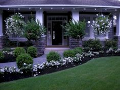 nice 49 Simple And Low Maintenance Front Yard Landscaping Design Ideas  https://decorke.com/2018/03/30/49-simple-and-low-maintenance-front-yard-landscaping-design-ideas/