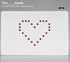 If you haven't seen these before, hop over to The ___ Cards and check out these cool cards! They're blank to start with, then you pop out the tiny holes to create your own design. ign. Even if you don't fancy ordering The ___ Cards all the way from the USA, you can still have... Continue reading →