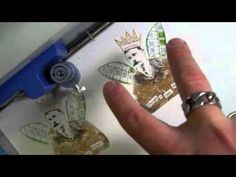 Tim Holtz shows you this amazing layering technique with pieces using the latest Stamp2Cut from Sizzix...