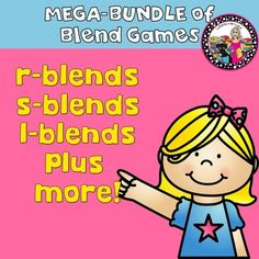 Blend Games! 7 in all!  s-blend, l-blend, r-blend!This product contains all the blends you need to reinforce those you have taught.  Aligns with the Words Their Way word study program!  However, you do not need to use the program to utilize these games!The following are the blends that are covered in these games:pl, gl, fl, bl, sl,cl, fr, gr, cr, pr, tr, dr, br,, st, sk, sm, sp, sn, sw, sc, and as a bonus:  tw, qu, wh, and k!Seven games for a low cost!