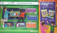Obtain minds and bodies moving with LeapTV, the educational, active video clip gaming system built simply for youngsters ages 3 to 8 years. Feel the beat and relocate those feet to nine dance games that teach very early analysis skills with the LeapTV, the first instructional, active video gaming system for children. Special perk includes LeapFrog Dance & Learn game cartridge and LeapFrog Sports! video game cartridge!!!