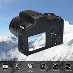 Sec Hd 1080p Video Professional Camcorder Handheld Digital Camera 16x Digital Zoom De Video Camcorders - AL Najaf Store Lens Flare, Video Camera, Slr Camera, Camcorder, Cable, Usb, Point And Shoot Camera, Digital Slr, Digital Cameras
