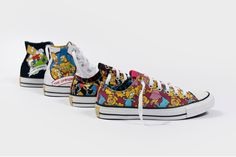 Converse x The Simpsons 2014 Fall Collection