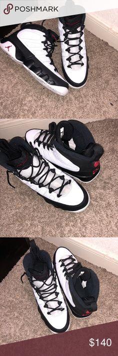 e72a7d3b81e96c Shop Men s Jordan White Black size 7 Sneakers at a discounted price at  Poshmark.