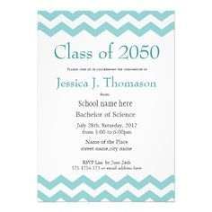 This beautiful graduation announcement features a sophisticated ...