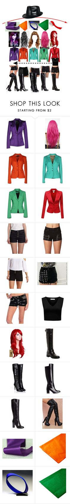 """""""Untitled #576"""" by creepypasta-music-anime-love ❤ liked on Polyvore featuring Just Cavalli, Daniele Alessandrini, Coccapani, GUESS by Marciano, Doublju, 7 For All Mankind, Forever 21, Charlotte Russe, Levi's and Vintage Havana"""