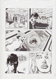 Dylan Dog Nicola Mari - Phoenix 29 Comic Art