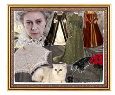 """""""Lady Tremaine"""" by saffronide ❤ liked on Polyvore featuring Nearly Natural"""