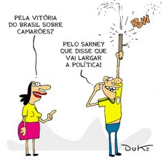 Brasil comemora boa notícia