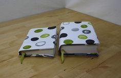 Büchertaschen - 2 Stück - Buchhülle Bucheinband Buchumschlag - ein Designerstück…