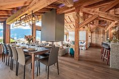 Chalet Largo - villa Chalet Largo Megeve | Isle Blue House Plan With Loft, House Plans, Mountain Home Exterior, Alpine Style, Shared Bathroom, Workout Rooms, Double Beds, Great Rooms, Luxury Homes