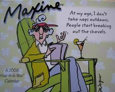 Maxine Cartoons On Aging - Bing Images