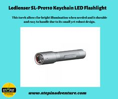 This bright LED Lenser SL-Pro110 keyring torch can be attached to any key ring, allowing for convenient and simple use. #ledlensertorch #torch #ledtorch #ledlenser #Headtorch #Light #Nightrunner #ledlenserworklight #ledlenserlight #ledlensertorches #outdoor #outdoorgear #nature #wildlife #wildlifephotography #naturelovers #outdoors #nocturnal #headtorch #torch #outdooradventures #hiking #working #stepinadventure #adventure Led Lenser, Luminous Flux, Work Lights, Hiking Gear, Led Flashlight, Wildlife Photography, Outdoor Gear, Beams, Outdoors
