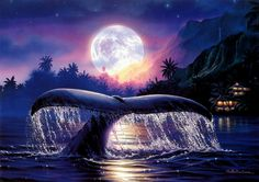 Christian Riese Lassen - Ancient Mysteries - My Photo Gallery My Photo Gallery, Art Gallery, Ocean At Night, Ancient Mysteries, Ad Art, Ocean Art, Christen, Illustrations, Ciel