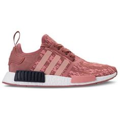 Adidas Nmd r1 Raw pink/trace Pink Legend Ink Customized With Swarovski... (€205) ❤ liked on Polyvore featuring shoes, sneakers, silver, sneakers & athletic shoes, women's shoes, pink trainers, pink sneakers, shiny shoes, polish shoes and pink shoes