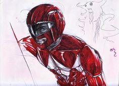 Red Ranger by seesic on DeviantArt