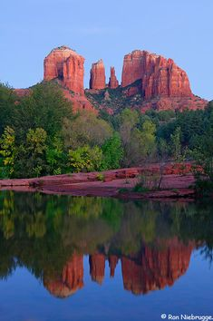 The Red Rocks of Sedona, Arizona