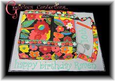 Vera Bradley Inspired Cake