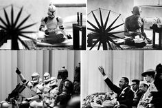 Famous pics recreated with SW characters via http://www.chichemetralla.com/