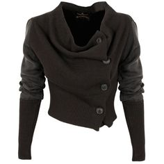 Vivienne Westwood Anglomania Drape Cardigan- for a member of the Communities.