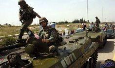 القوات الحكومية تفتح نيران رشاشاتها الثقيلة على…: كشف مصدر سوري رفيع المستوى أن القوات الحكومية وافقت على مغادرة مقاتلي المعارضة المسلحة في…