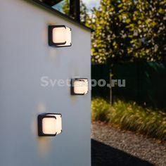 Светодиодный настенный уличный светильник Oasis Light ARMOR W 6166, купить с доставкой - цена в Москве.