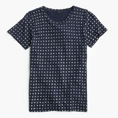 Sparkle foulard T-shirt