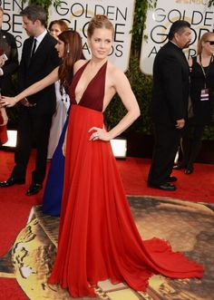 Golden Globes: All Best + Worst Dresses At Golden Globe Awards 2014-Amy Adams