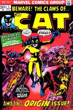 Beware! The Claws of The Cat. Origin issue 1.