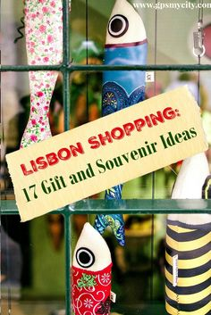 What to buy in Lisbon? This Lisbon shopping guide brings highlight upon some of the classiest and most traditional Portuguese products that you might wish to have back home from a trip to Lisbon!