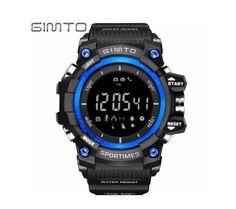 GIMTO LED Smart Watch Men Waterproof Digital Shock Sport Watches for Men  Military Stopwatch Diving Clock Watch relogio masculino a1f2b4644f9f