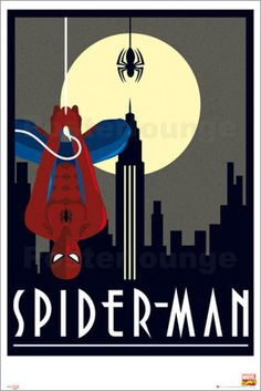 Marvel - Retro Spiderman - Comicposter