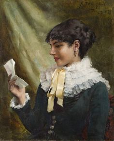 View The love letter by Albert Edelfelt on artnet. Browse upcoming and past auction lots by Albert Edelfelt. Prinz Eugen, North Europe, Woman Reading, Impressionist Paintings, Love Letters, Art History, Scandinavian, Culture, Fine Art