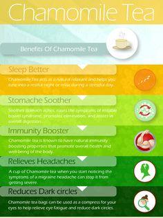 Chamomile tea healing benefits I love it my friend ...