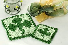 New Wiggly Crochet Hot Pads & Coasters Patterns Available Crochet Books, Thread Crochet, Crochet Gifts, Knit Crochet, Crochet Hot Pads, Cotton Crochet, Wiggly Crochet Patterns, Crochet Ideas, Crochet Chart